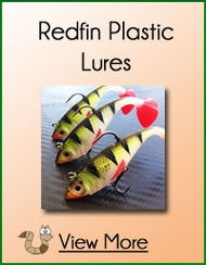 Redfin Soft Plastic Lures